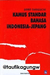Jual Kamus Indonesia Jepang Dian Rakyat